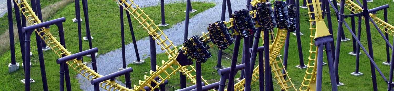 BATMAN'S BATWING Coaster