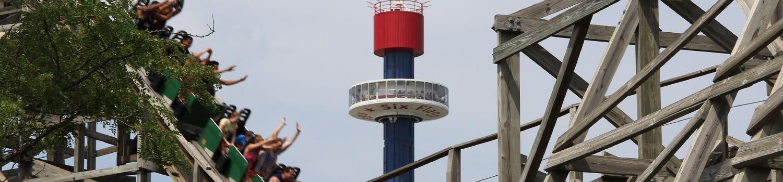 Sky Tower Height Sky Trektower Sky Trek Tower