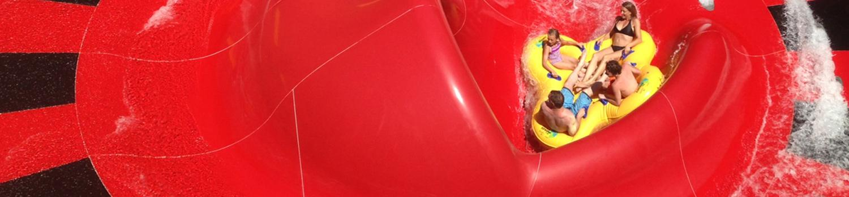 close-up of typhoon twister