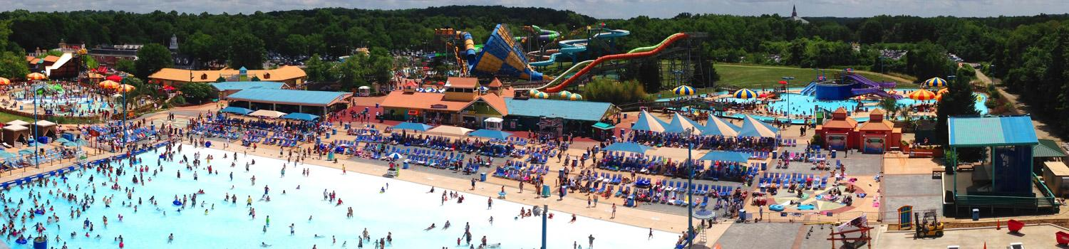 Six Flags America Water Park Overview