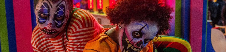 Killer clowns at Fright Fest