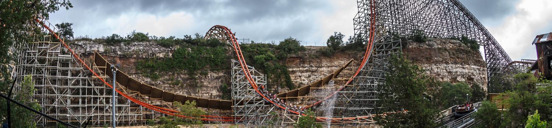 Iron Rattler coaster
