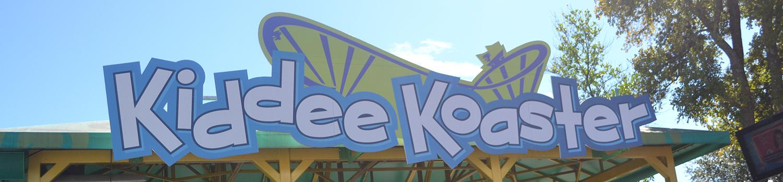 Kiddee Koaster Ride Sign