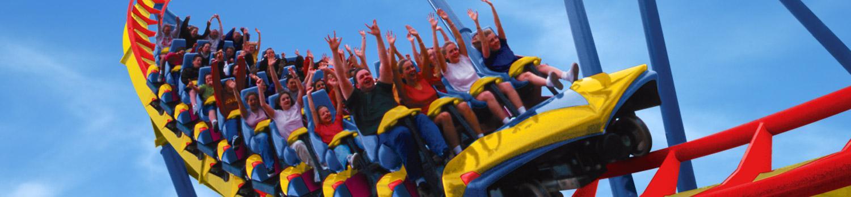 Nitro on National Roller Coaster Day
