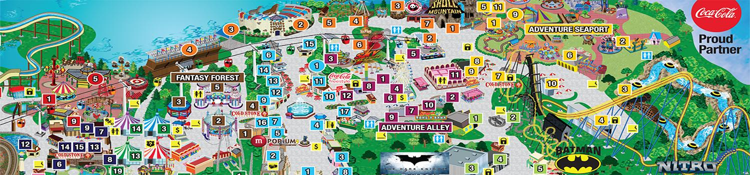 Frequently asked questions six flags america great america