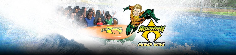 Aquaman Power wave ride