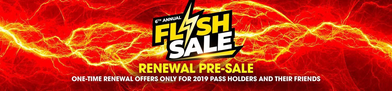 Six Flags Flash Sale Pre-Sale on Season Passes and Memberships