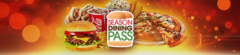 Six Flags Food Pass Menu