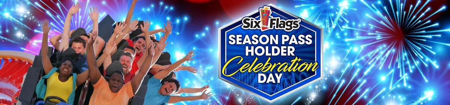 Season Pass Holder Celebration Days at Six Flags New England