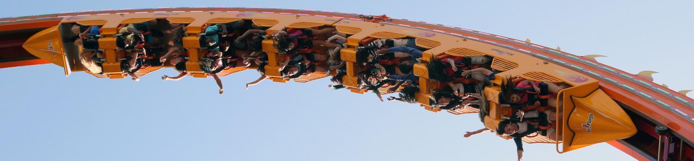 Dare Devil Chaos Coaster Loop