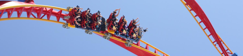 SUPERMAN Ultimate Flight coaster