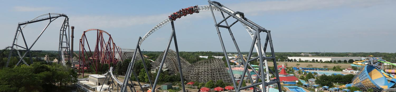 Maxx Force vista with Raging Bull and Hurricane Harbor