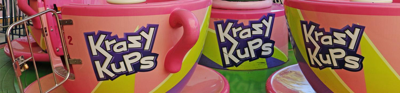 close up of pink Krazy Kups