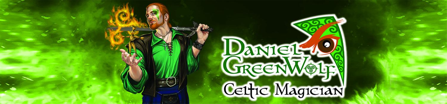 Daniel GreenWolf: Celtic Magician performs at Six Flags New England
