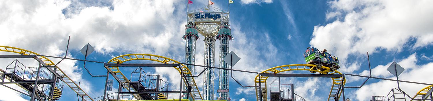 Gotham City Gauntlet and Scream at Six Flags New England