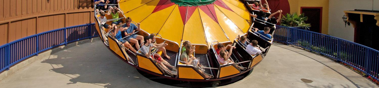 Young guests enjoy a rockin good time on El Sombrero