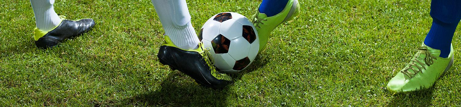 Soccer Players playing soccer