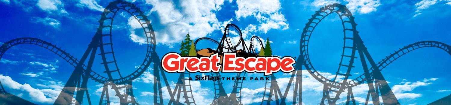 Paradise Plunge at Six Flags Great Escape