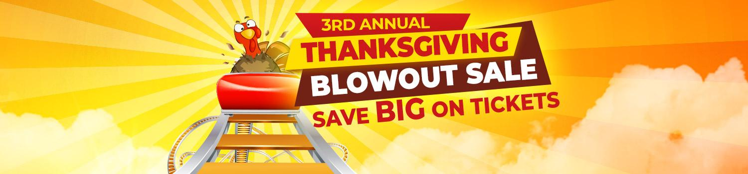 Save during our Thanksgiving Blowout Sale