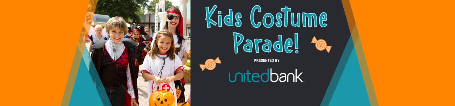Kids Costume Parade presented by United Bank
