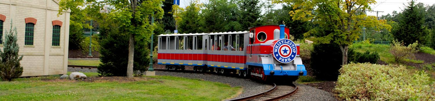New England Express takes riders for a peaceful journey through Whistlestop Park