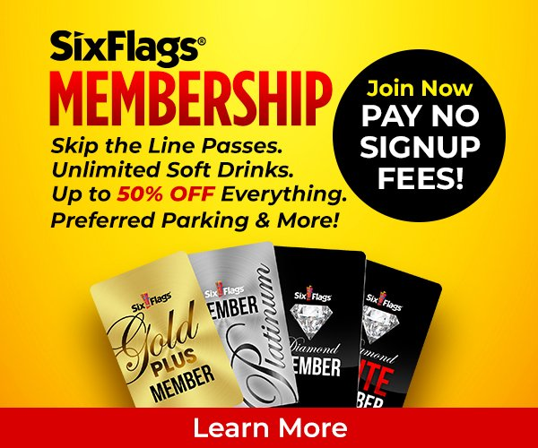 Pay no signup fees for membership